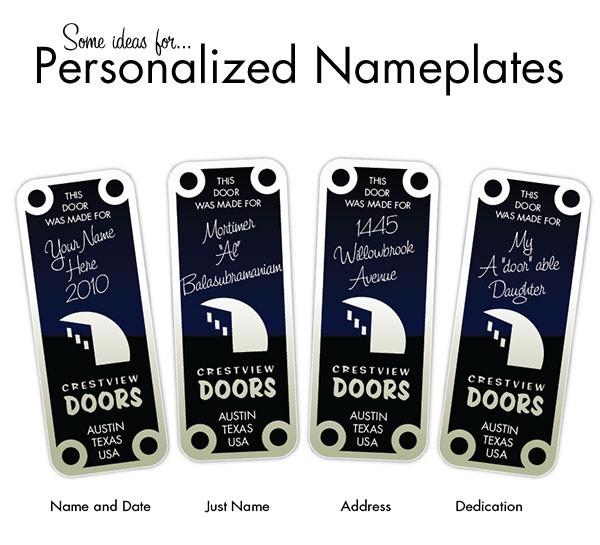 Gør dit arbejde sjovere med et personligt navneskilt